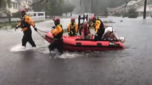Hurricane Florence: Rescues continue on water and land in wake of storm