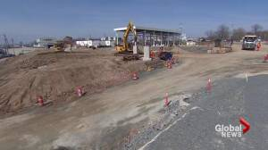 Construction underway on Irving Oil's Woodside Marine Terminal (01:14)