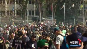 4/20 event fills Alberta legislature grounds with cannabis supporters