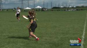 Edmonton family busy during the Canadian Ultimate Championships