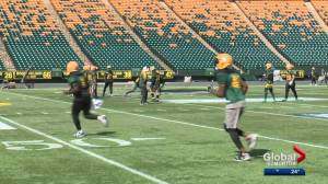Edmonton Eskimos hope to improve their record on the road