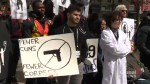 Canadian doctors hold nation-wide rally for stricter gun laws