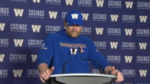 RAW: Blue Bombers Mike O'Shea Post Game Interview