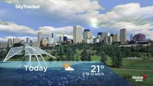 Edmonton early morning weather forecast: Wednesday, June 13, 2018