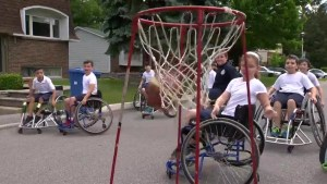 Hebrew Foundation School holds wheelchair basketball game