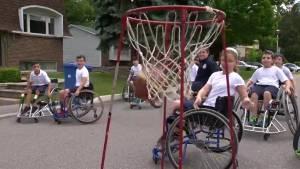 Hebrew Foundation School holds wheelchair basketball game