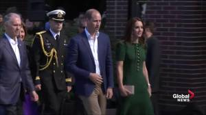 Prince William and Kate arrive at UBC Okanagan to celebrate 10th anniversary