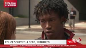 Witness saw shooter firing while running through park in Jacksonville, FL