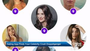 Dating app helps find your celebrity doppelganger crush
