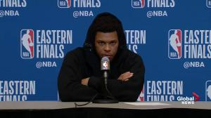 Raptors' Lowry expresses disappointment over Game 1 loss, says 4th quarter 'killed us'