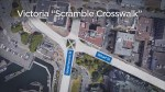 New 'scramble crosswalk' coming to Victoria