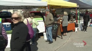Peterborough Farmers' Market moves outside for summer