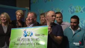 $60 million Lotto Max winning dozen used Quick Pick