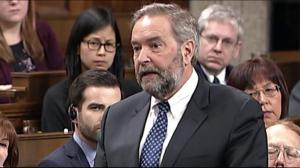 NDP's Mulcair calls on Canada to unify against Islamophobia