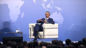 Barack Obama says North Korea's isolation makes them less subject to negotiation