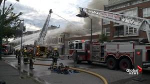 Fire guts three businesses in Kitsilano neighbourhood