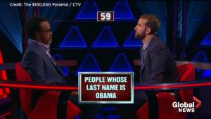 Contestant on $100,000 Pyramid goes viral with unfortunate answer (00:31)