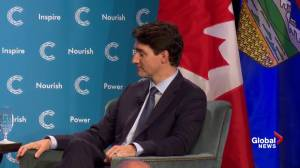 Trudeau talks about Bill C-69 to Alberta's Chamber of Commerce