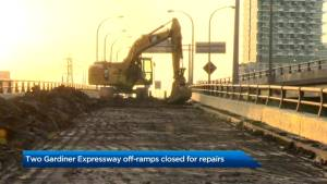Yonge-Bay-York exit on Gardiner Expressway closed for 2 months, re-opening mid-September