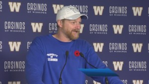 Blue Bombers Matt Nichols Injury Update
