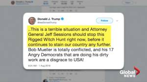 Trump to Sessions: End Russia probe 'right now'
