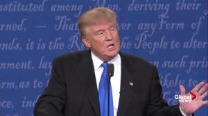 Presidential debate: Hillary Clinton implies Donald Trump doesn't pay income taxes