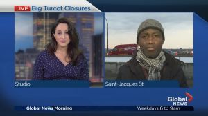 Big Turcot Closures