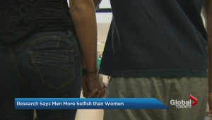 Are men more selfish than woman?