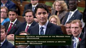 """""""I apologize unreservedly:"""" Justin Trudeau delivers apology to House of Commons for physical altercation"""