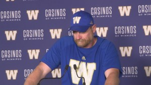 RAW: Blue Bombers Mike O'Shea Media Briefing – Aug 15