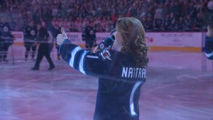 Jets anthem singer preps for Winnipeg Whiteout