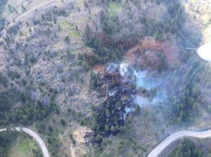 Wildfire near West Kelowna brought under control