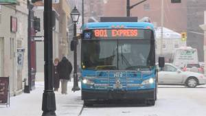 Kingston Transit continues to run as storm hits region