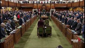 MPs hold a moment of silence for victims of mosque attack