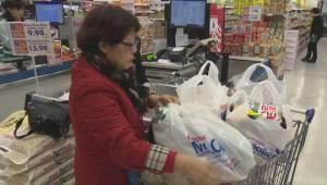 Moncton ponders ban on plastic bags, retail council would rather see provincial legislation