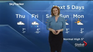 Spring arrives with sunshine and seasonal temperatures, but mixed precipitation expected overnight