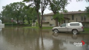 Claresholm flooding