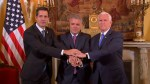 Venezuela's Guaido thanks Pence for U.S. support, says they'll continue to resist Maduro regime