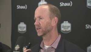 Dickenson talks about Stampeders playing their 3rd-straight Grey Cup