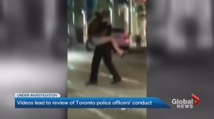 New video of 2 Toronto Police officers under review
