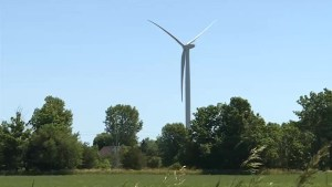 Work contines at White Pines Wind Project in Prince Edward County