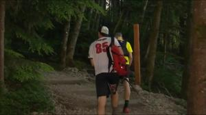 Hiker test their stamina in Grouse Grind challenge