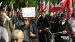 Far-right protests in Poland against restitution of Jewish property