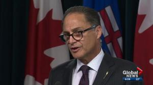 Alberta deficit down compared to last year: government
