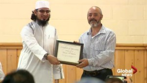 Lethbridge Muslim community preaches tolerance, understanding following racist tirade