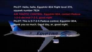 EgyptAir Flight 804: New audio released from on board crashed flight (01:14)
