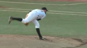 Homegrown Edmonton Prospects pitcher turns heads