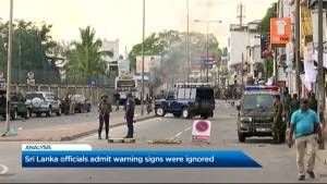 Why did Sri Lankan officials ignore warning signs in the terror attacks?