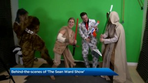 Behind the scenes of The Sean Ward Show