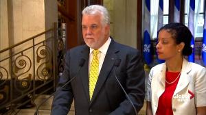 Bombardier tariffs a hit to the 'heart' of Quebec's economy: Couillard